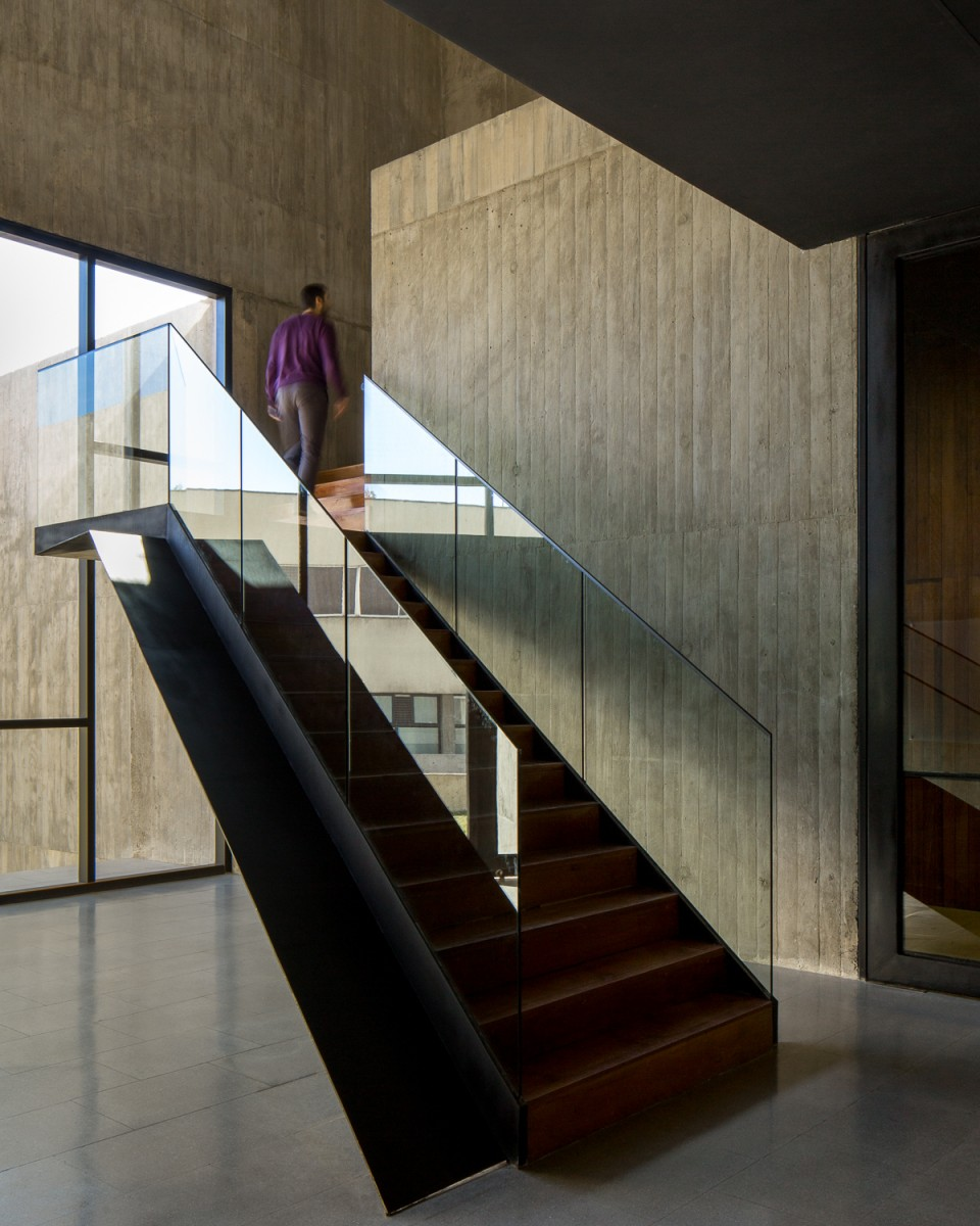 Centro de Innovacion first to second floor stairs