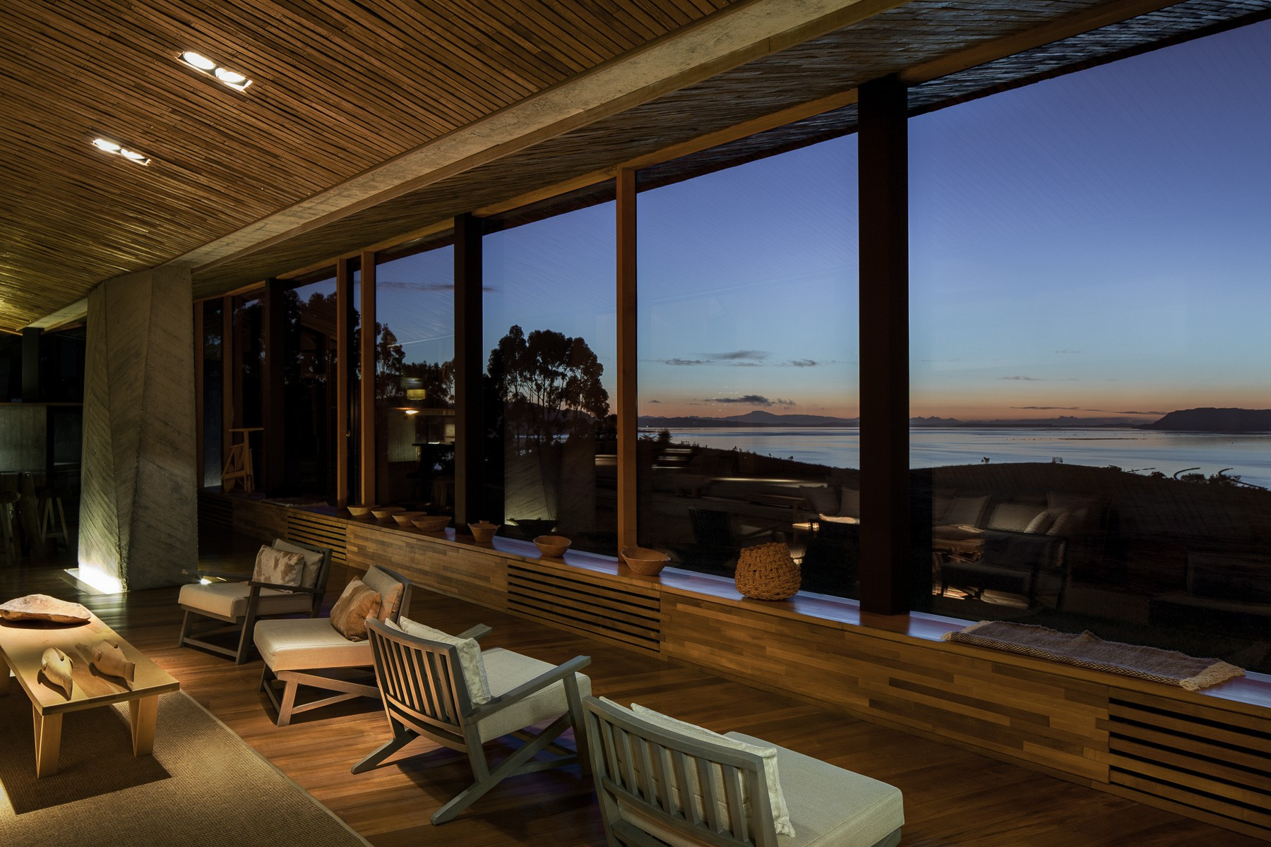 Hotel Tierra Chiloe Sunset View Inside