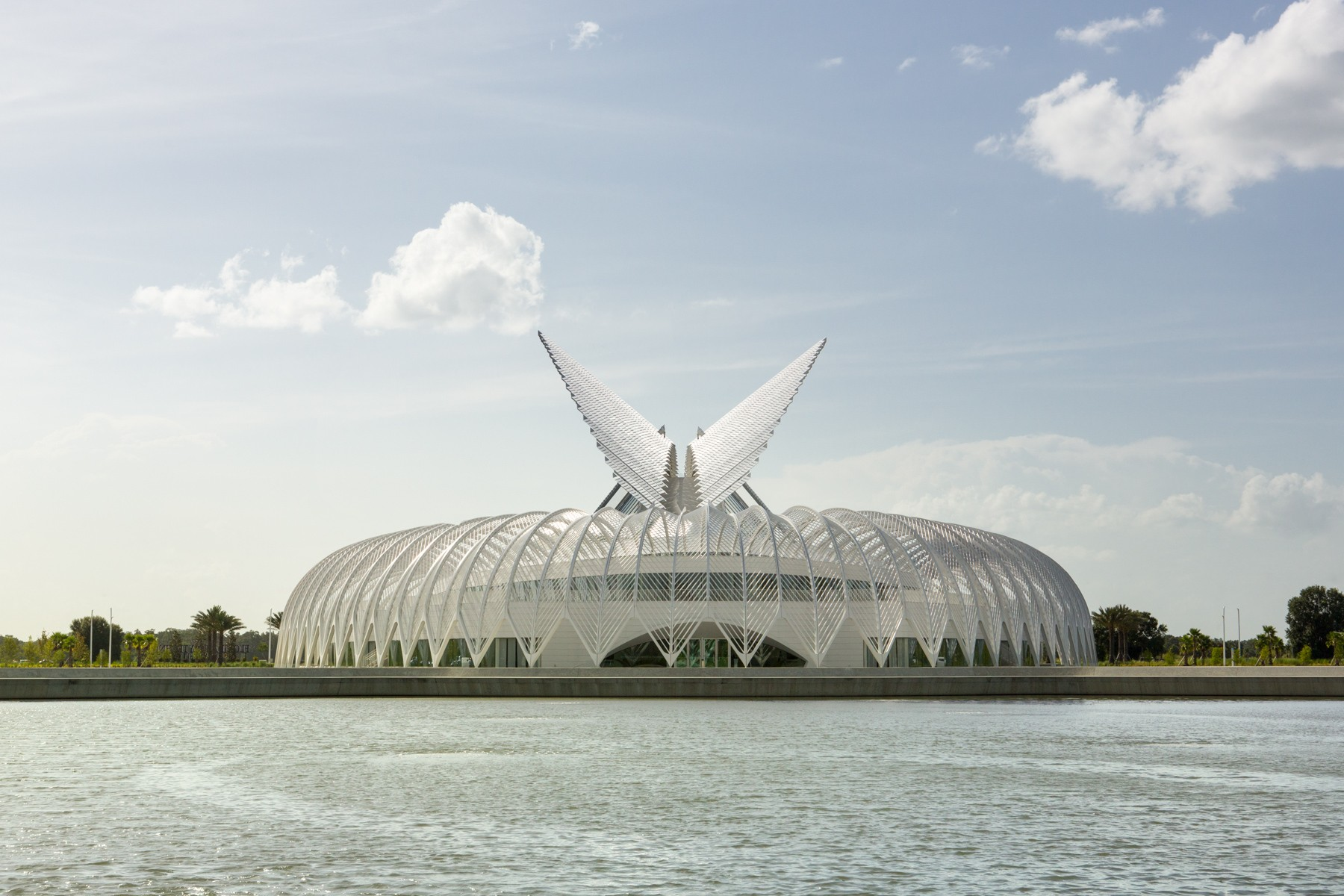 Architect Santiago Calatrava, Innovation, Science and Technology (IST) Building, Florida Polytechnic University
