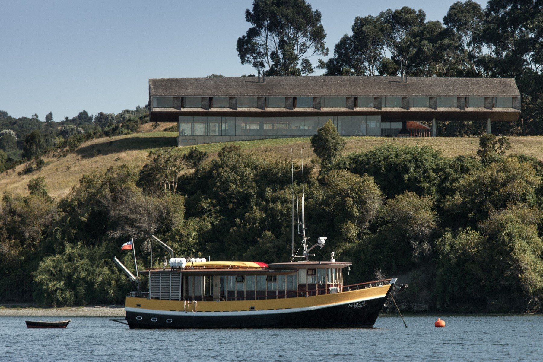 Hotel Tierra Chiloe View from Lake