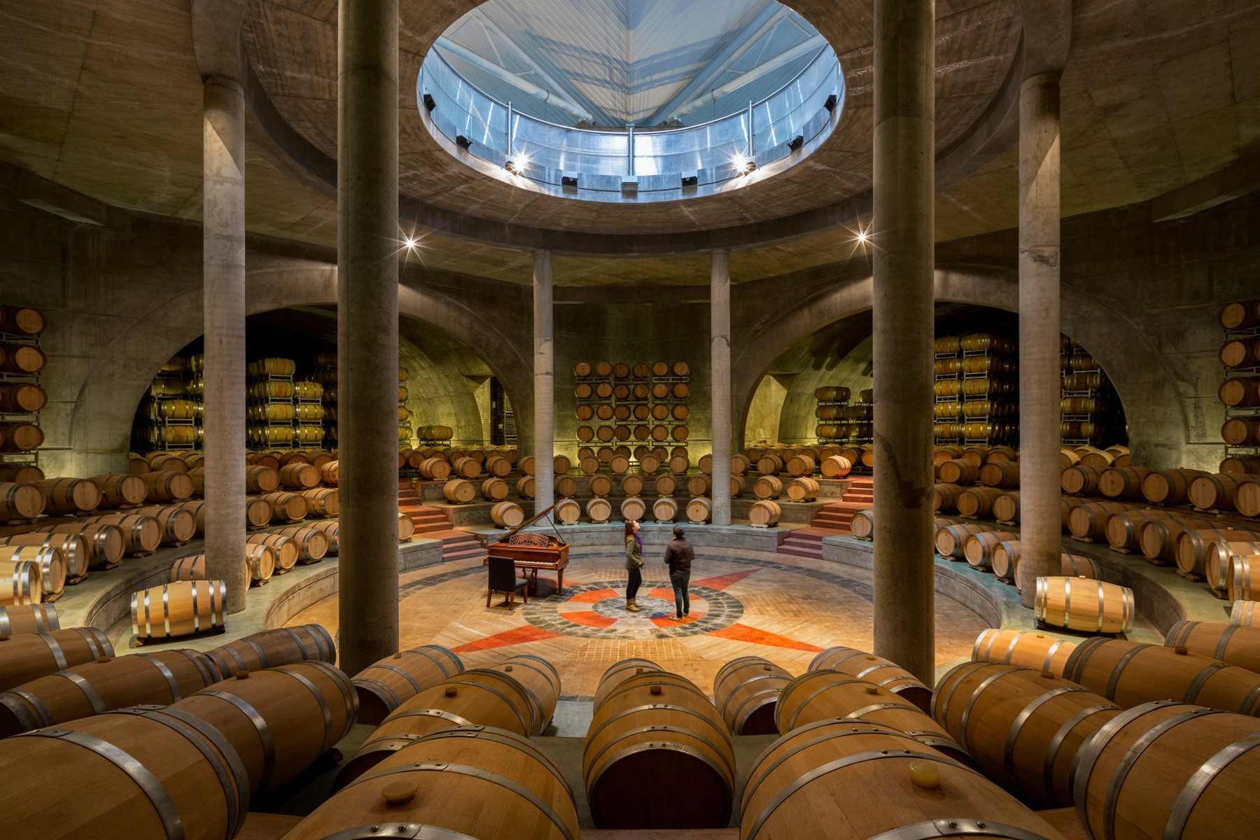 Bodegas Salentein Wine Bodega & Piano Hall
