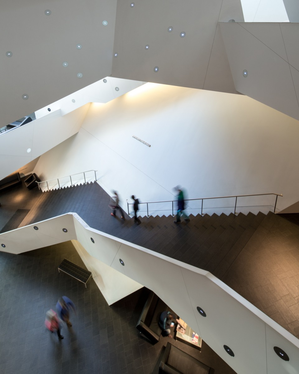 Denver Art Museum Stairs